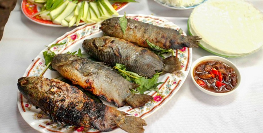 Roasted Salted Perch ninh kieu 2