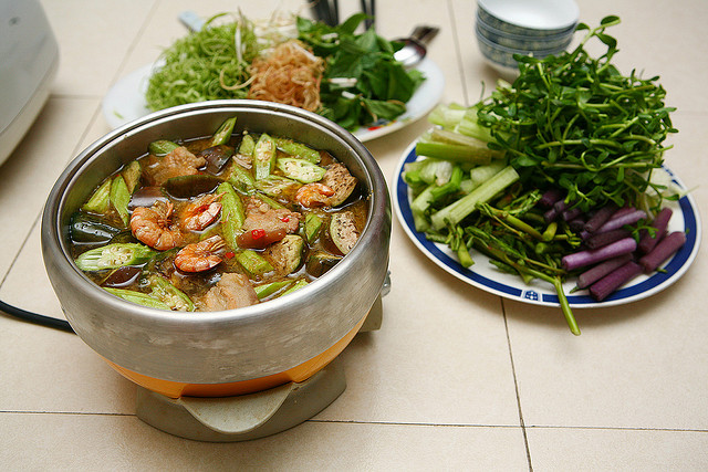 Fish-sauce hotpot