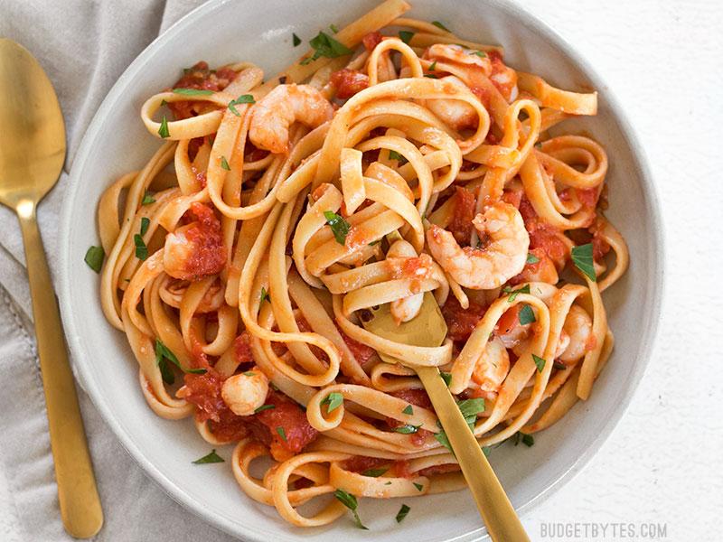 Seafood pasta sauce